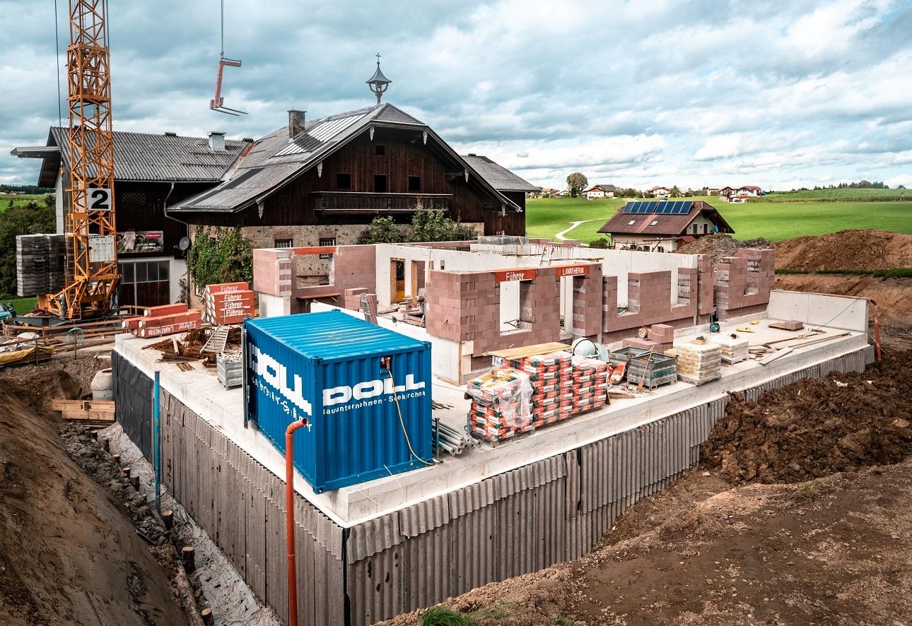 Halberstätten Baustelle Von Hinten