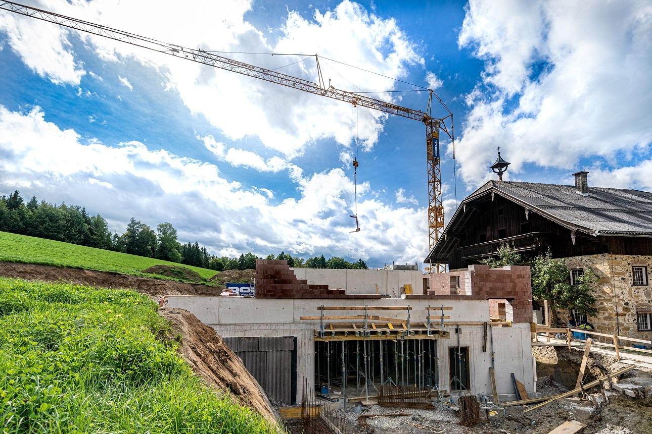 Halberstätten Baustelle Von Vorne